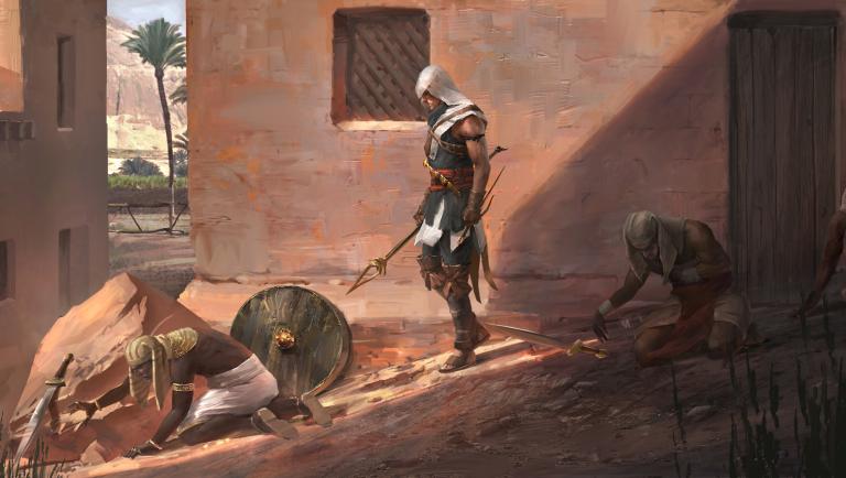 Un mode de jeu sans combat — Assassin's Creed Origins