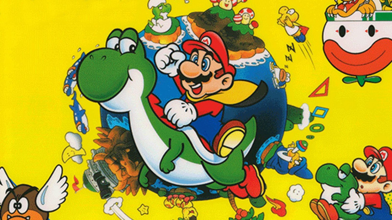 Super Mario World : Nintendo explique que Mario frappait Yoshi à l'origine