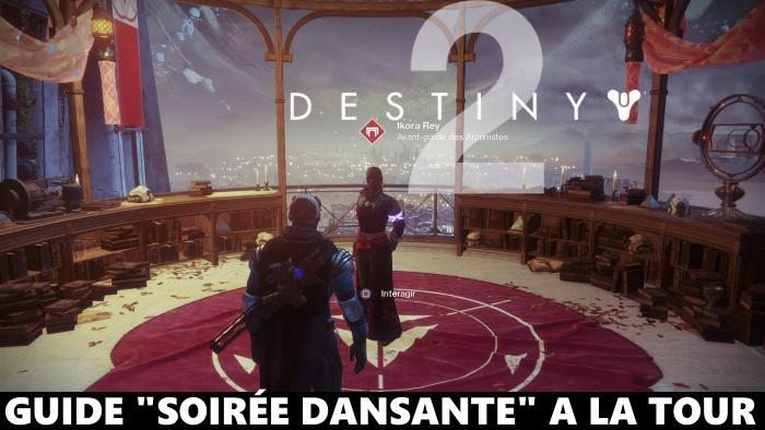 """Destiny 2, les coffres de la Tour et la """"soirée dansante"""" : comment les activer"""