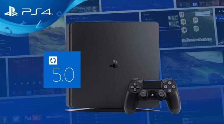 PlayStation 4 : la mise à jour 5.0 est désormais disponible pour tous
