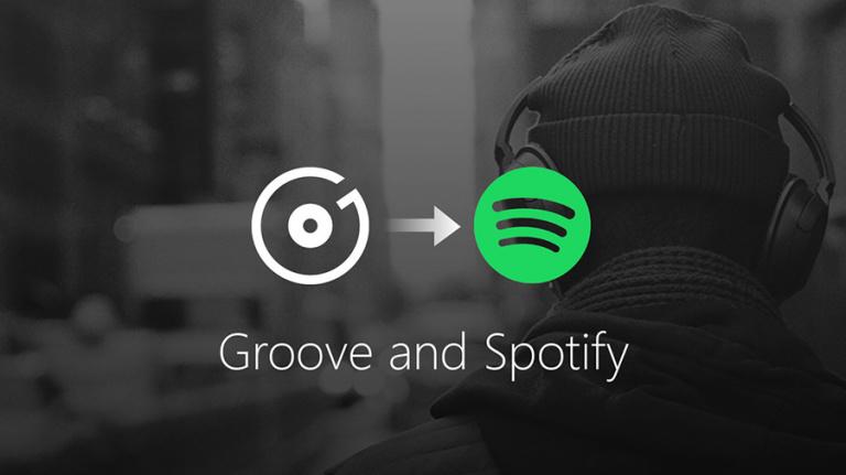 Sur PC et Xbox One, l'abonnement à Groove Musique va laisser place à Spotify