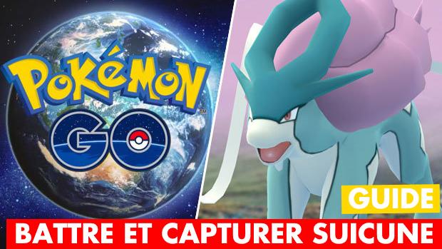 Pokémon GO : Suicune est dispo, comment le battre et le capturer ? Meilleurs Pokémon, faiblesses, taux de capture...