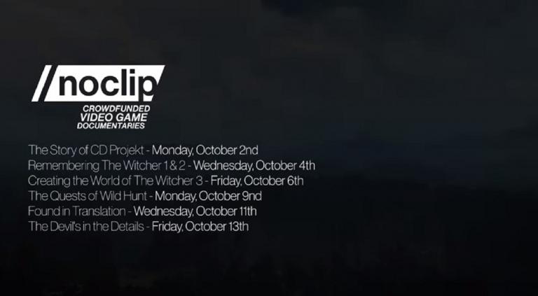 The Witcher : Une série de mini-documentaires diffusée par No Clip