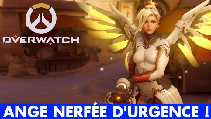 Overwatch, Ange / Mercy : un gros nerf et des changements à prévoir pour la soigneuse surboostée