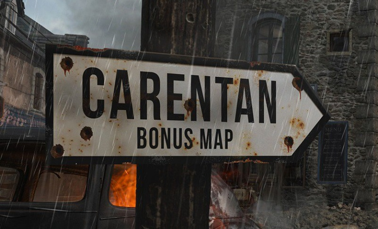 Call Of Duty WWII La Carte Carentan Disponible Dans Le Season Pass Du