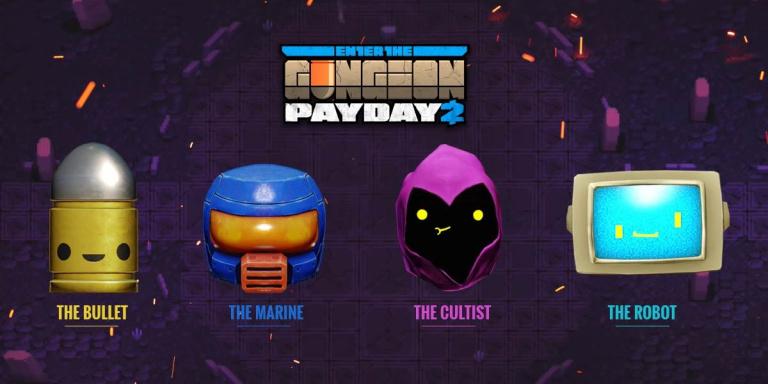 Enter the Gungeon x PAYDAY 2 : Du contenu crossover innatendu