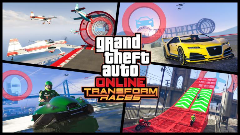 GTA Online : La mise à jour d'octobre apporte trois nouveaux modes