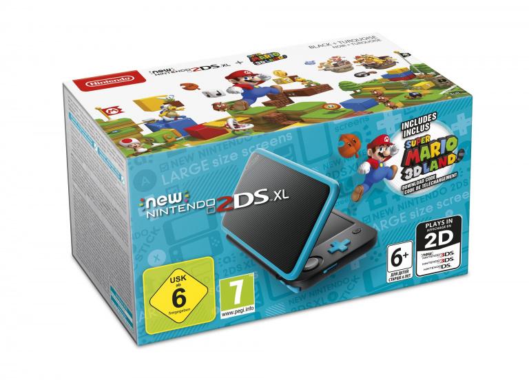 Nintendo annonce un pack New 2DS XL avec Super Mario 3D Land