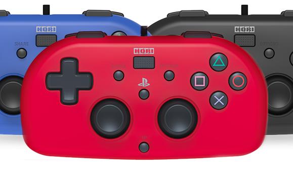 Des mini-manettes HORI pour la PS4
