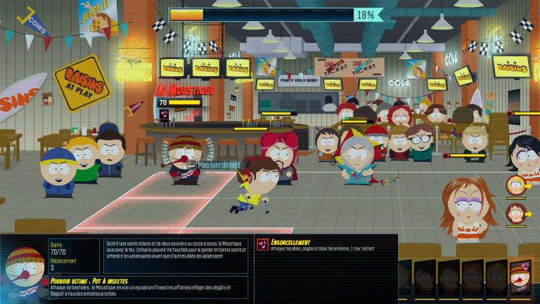 South Park : L'Annale du Destin, un version portable correcte