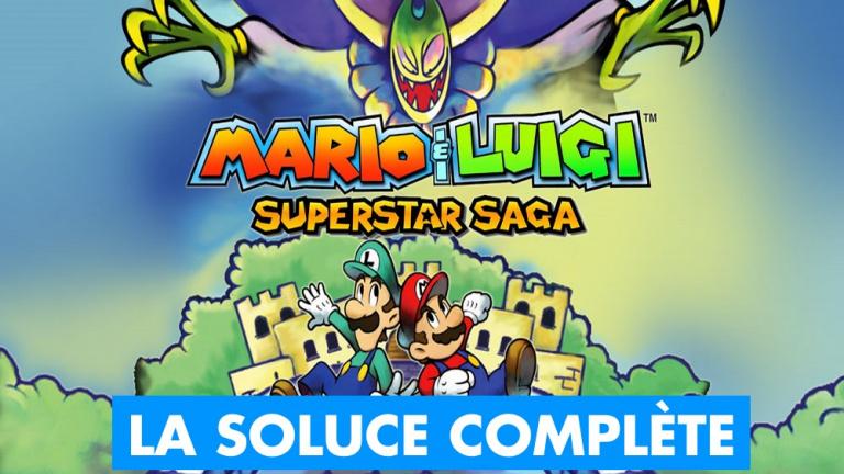 Soluce Mario & Luigi Superstar Saga + Les Sbires de Bowser : notre guide complet