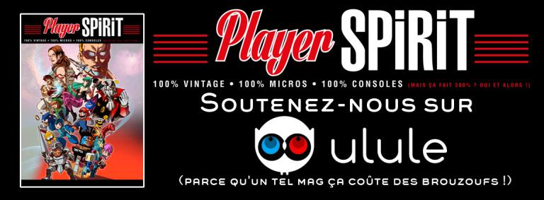 Player Spirit, un magazine 300% rétro en projet sur Ulule