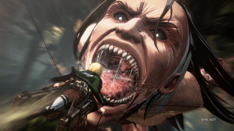 PGW 2017 : L'Attaque des Titans 2 aura droit à une démo jouable