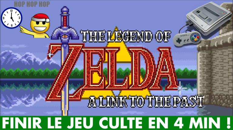 SNES Mini : Finir Zelda A Link to the Past en 4 minutes, c'est possible ! Comment speedrunner le jeu culte