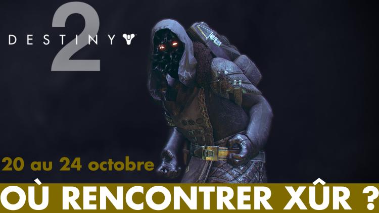 Destiny 2, Xûr : que propose le vendeur d'Exotiques et où se cache-t-il ce week-end ? (20, 21, 22, 23, 24 octobre)