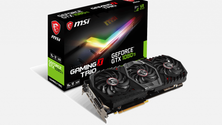 Test de la carte graphique MSI GTX 1080 Ti Gaming X Trio 11 Go