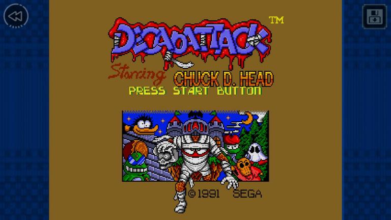 Decap Attack rejoint la collection SEGA Forever