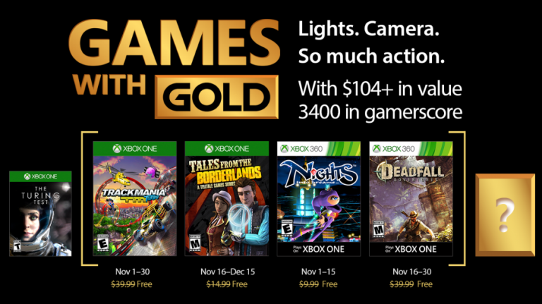 NiGHTS into dreams offert en novembre — Games with Gold