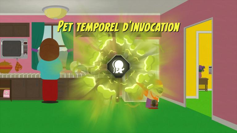 Pet temporel secret : le pet d'invocation