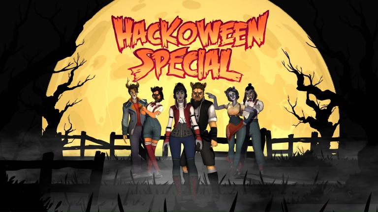 Hacktag fête lui aussi Halloween