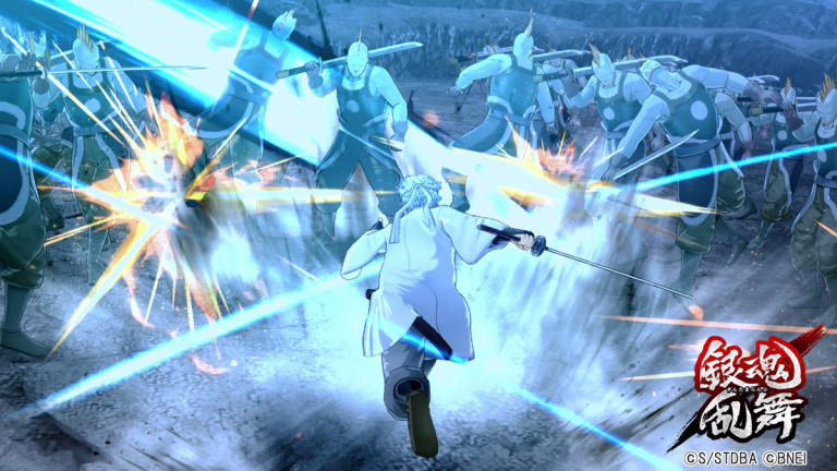 Gintama Rumble : Tour d'horizon des dernières images