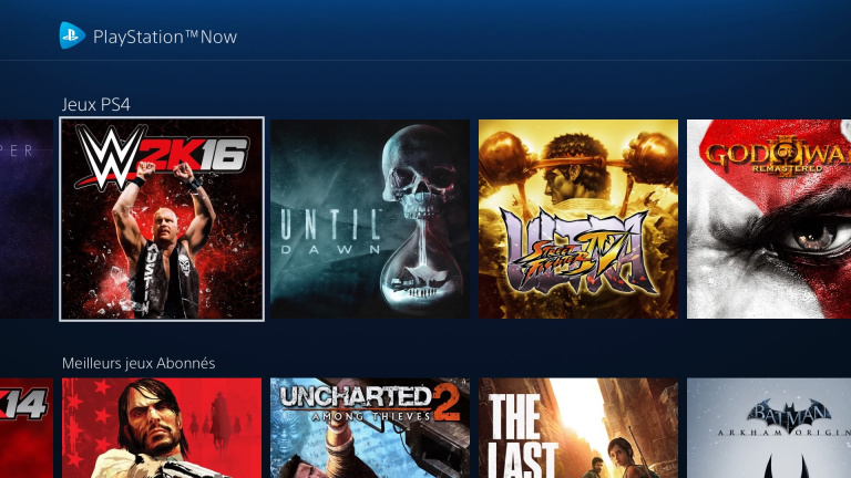 Le PS Now désormais disponible en France