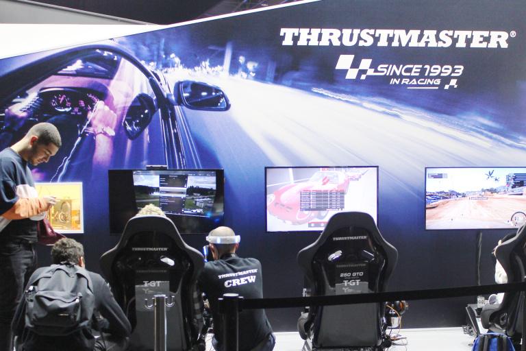 Thrustmaster profite de la PGW pour faire le plein de nouveautés