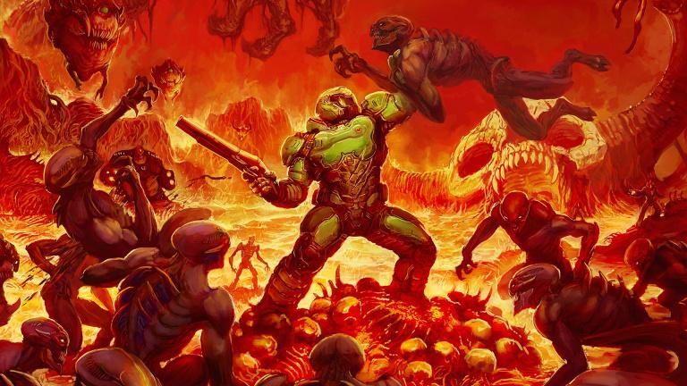 Doom : La version Switch dévoile son poids