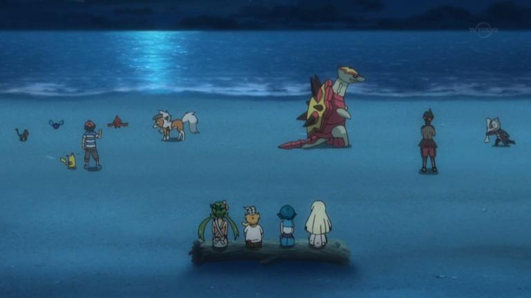 Le millième épisode de l'anime consacré à Soleil / Lune