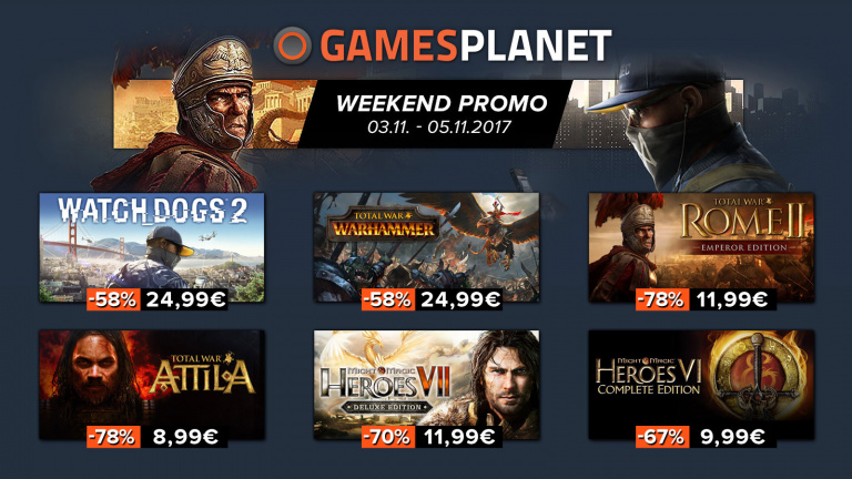 Gamesplanet brade jusqu'à 78% la série Total War