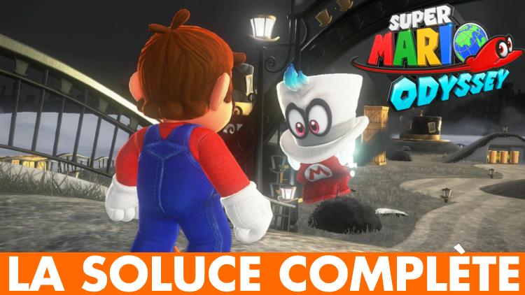 MAJ) Super Mario Odyssey, la soluce complète : emplacements