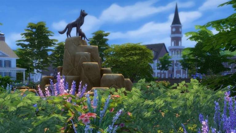 Les Sims 4 : Chiens et Chats - La ville de Brindleton Bay se présente