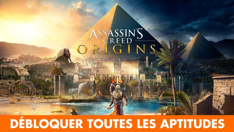 Assassin's Creed Origins : comment obtenir des PA et toutes les aptitudes