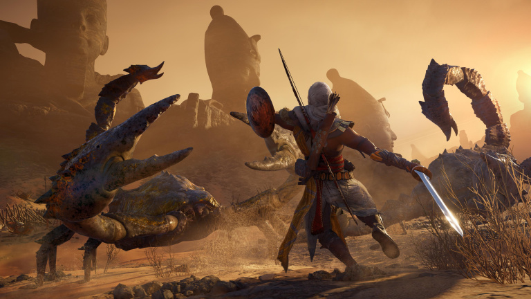 Assassin's Creed Origins passe à la version 1.04