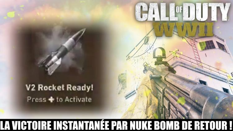 Call of Duty WW2, missile V2 : la nuke bomb fatale de retour en multi ! Comment la déclencher ?