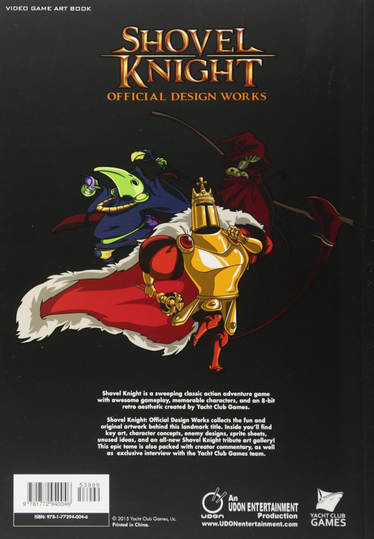 Shovel Knight : l'artbook officiel est sorti