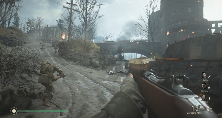 Le Rhin - 7 mars 1945