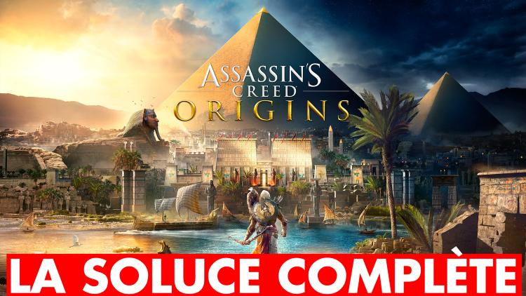 (MàJ) Assassin's Creed Origins : la soluce complète (histoire principale et quêtes secondaires)