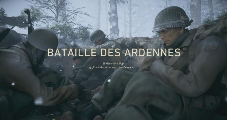 Bataille des Ardennes - 25 décembre 1944