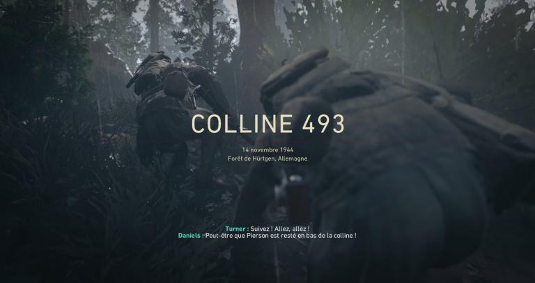 Colline 493 - 14 Novembre 1944