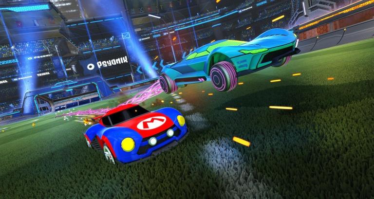 Rocket League dévoile sa taille sur Nintendo Switch