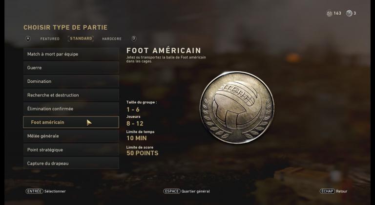 Foot Américain