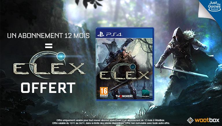 Explorez le monde science-fantasy d'ELEX avec la Wootbox