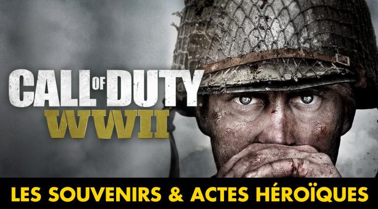 Call of Duty WW2, soluce Souvenirs et Actes Héroïques : notre guide complet