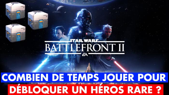 Star Wars Battlefront 2 : combien de temps farmer pour avoir Dark Vador, Luke Skywalker, Leia... Notre guide des prix des héros à débloquer
