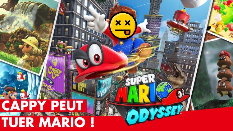 Super Mario Odyssey : tuer Mario avec sa casquette Cappy, c'est possible ! Comment déclencher le bug amusant du mode 2 joueurs