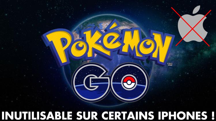 Pokémon GO, mise à jour : le jeu inutilisable sur certains iPhones, Niantic prépare le futur du titre