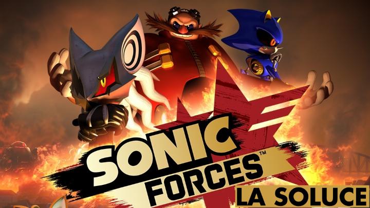 Sonic Forces : soluce, boss et emplacements des pièces rouges