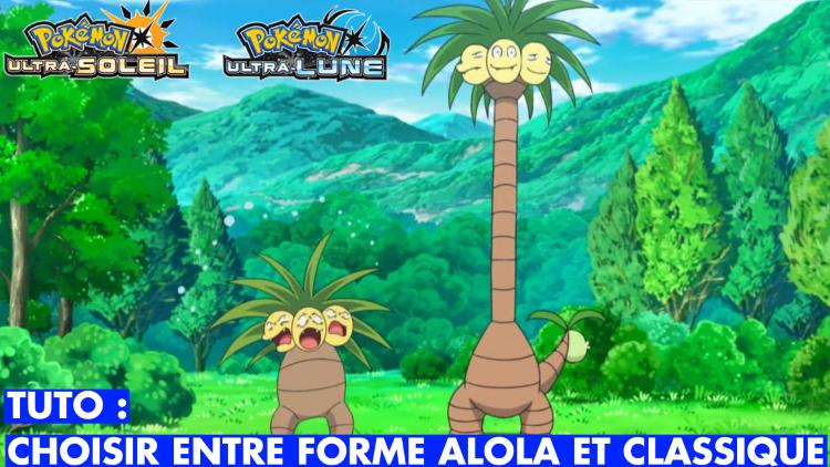 Pokémon Ultra-Soleil / Ultra-Lune : évoluer ses Pokémon en forme non-Alola, c'est possible, voici comment