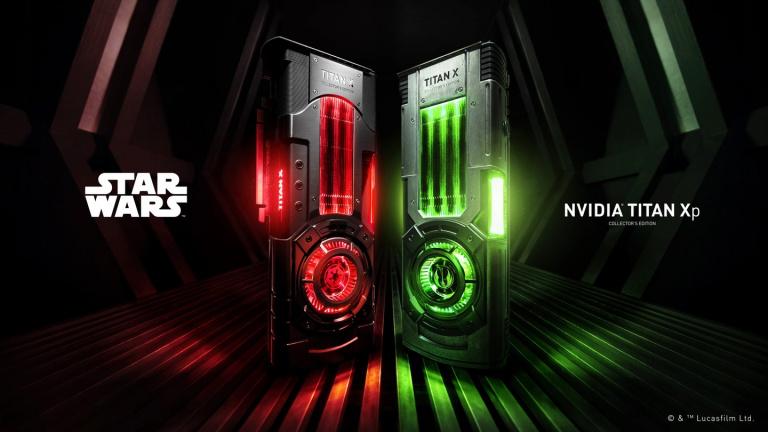 Nvidia présente des Titan XP aux couleurs de Star Wars
